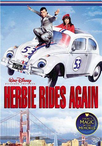 Герби снова на ходу / Herbie Rides Again (Роберт Стивенсон  Robert Stevenson) [1974, США, Комедия, DVDRip]